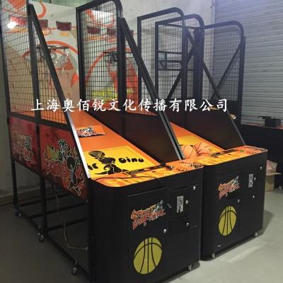 篮球机街头篮球游戏机健身投篮机游乐游艺机设备厂家