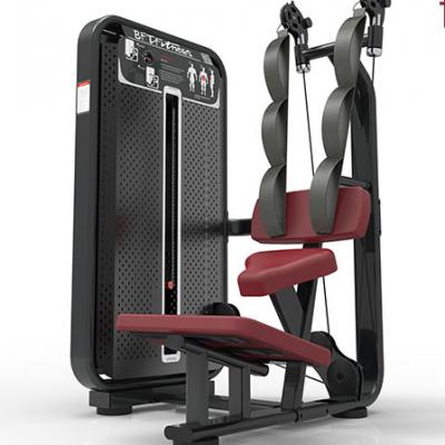 坐式压腹训练器 坐姿收腹肌器械 商用健身房室内健身器材厂家