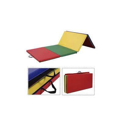 四折体操垫 儿童早教地垫 幼儿园墙体软包垫 加厚运动护具定制