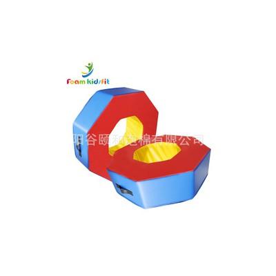 软体八角环幼儿园早亲子游戏感统训练教具少儿体适能装备八角圈