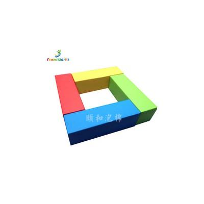 软体方体柱四合一长方形垫组合幼儿园早亲子游戏感统体适能教具