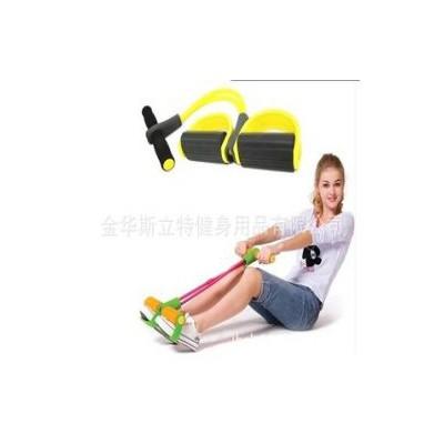 脚踏拉力器拉力绳 臀力器弹力绳健身器材 减肥塑身减腹器材美腿