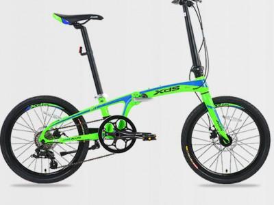 喜德盛K3运动型折叠自行车-都市精灵
