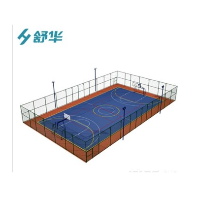 佛山运动场地器材厂家四通拼装式围网篮球场围网足球场围网