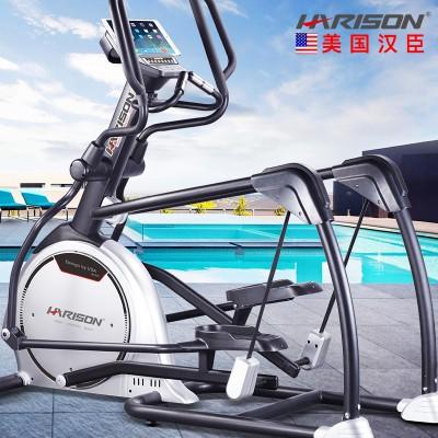 美国汉臣E3800自发电商用椭圆机