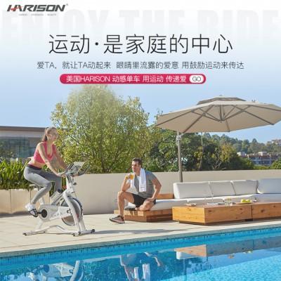 广州汉臣健身器材家用动感单车MONICA X5