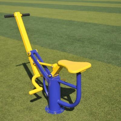 沈阳专业供应公园小区健身器材单柱椭圆机