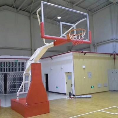 天津体育器材生产厂家直销各种篮球架电动手动液压篮球架