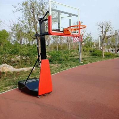 河北沧州市升降篮球架-成人篮球架