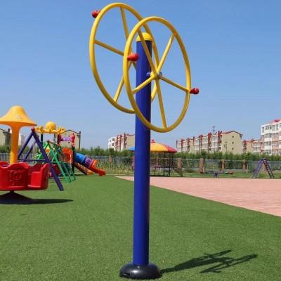 厂家直销室内外健身器材塑木臂力训练器健身路径河北晟茂