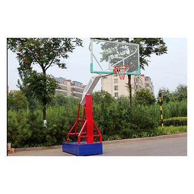 武汉市壁挂篮球架现场安装