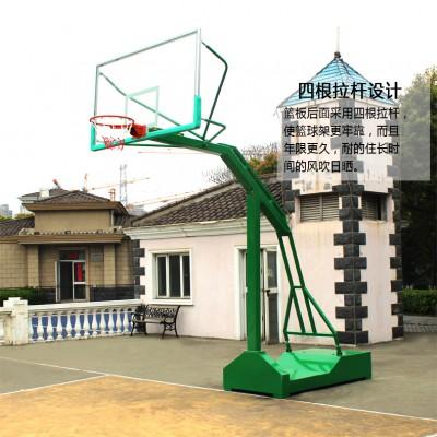 钦州市升降篮球架安装图