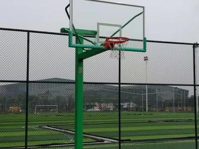 山东学校比赛专用篮球架 可移动式篮球架