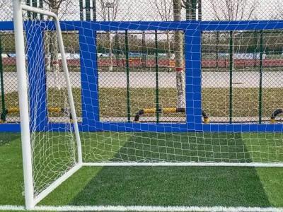 足球架订做生产足球场地挂网 小型室内足球场框嘉祥器材厂家