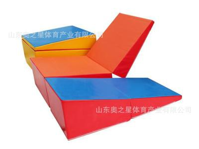 幼儿园儿童室外趣味游戏 游乐场多功能组合垫 康纳斯体操垫
