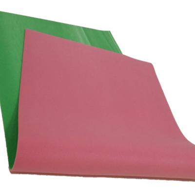 杭州朗群家居 瑜伽垫工厂定制 PVC瑜伽垫渐变色